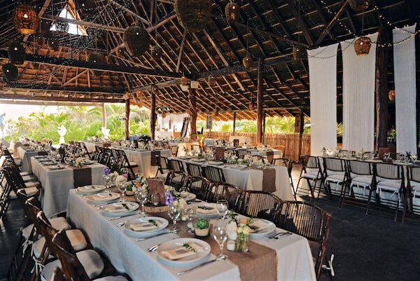 Dinner Venue - Setup - Pinterest - Destination Weddings Tulum